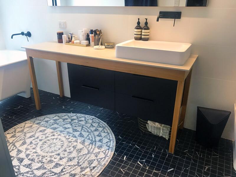Bathroom Renovations Wood Vanity
