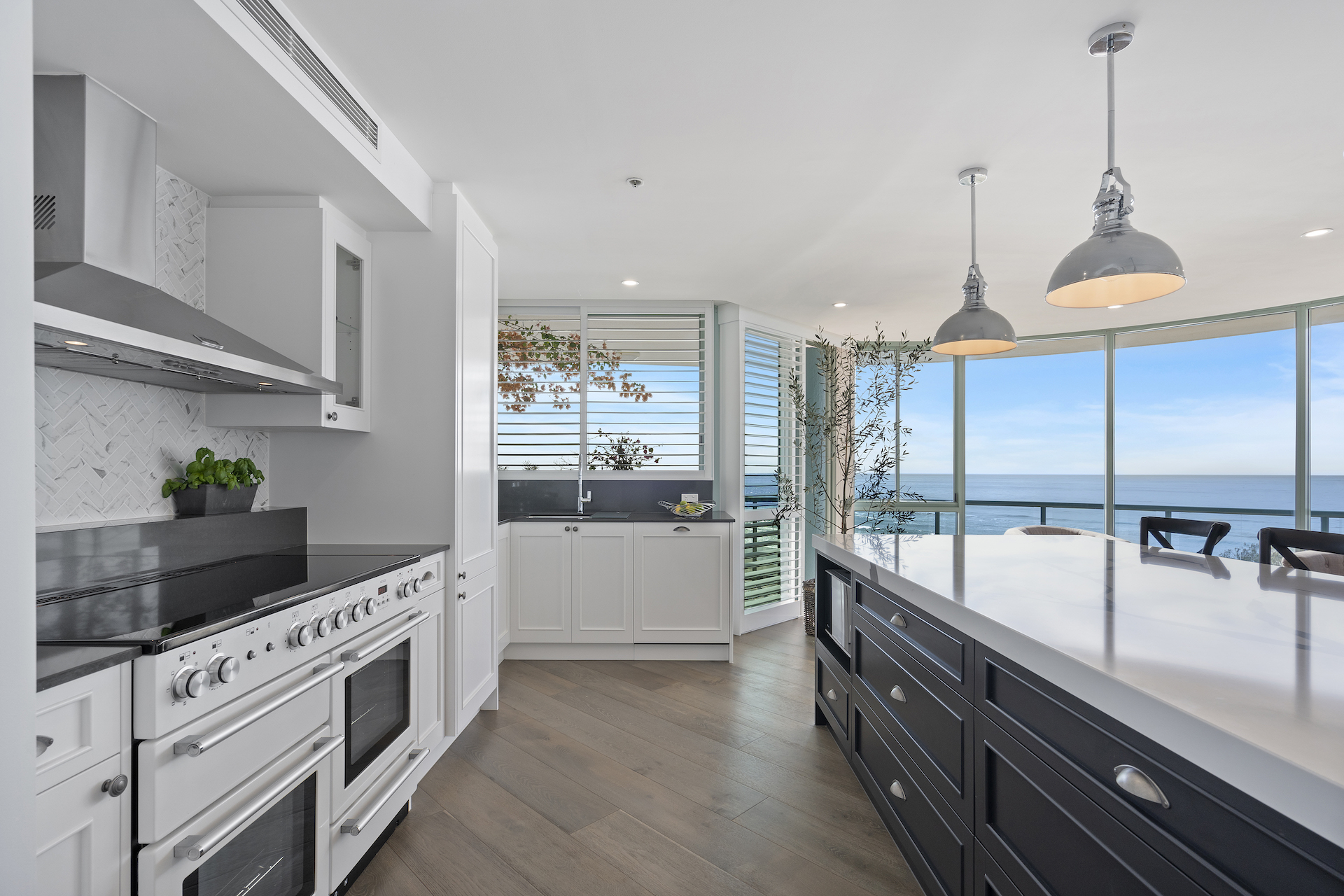Hamptons kitchen renovation Gold coast