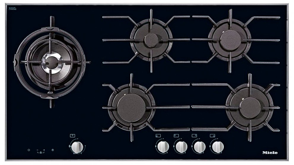 900mm gas cooktop black for new kitchen renovation